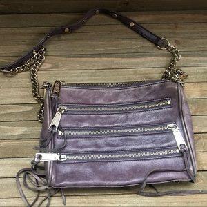 Rebecca Minkoff Lavender Purple Crossbody Bag